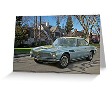 196X Iso Rivolta Greeting Card