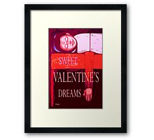 SWEET VALENTINE'S DREAMS Framed Print