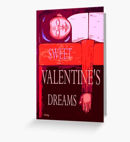 SWEET VALENTINE'S DREAMS Greeting Card