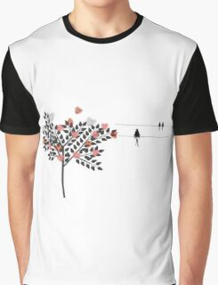 Swallows In Love Graphic T-Shirt