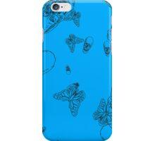 Blue Skull Daze iPhone Case/Skin
