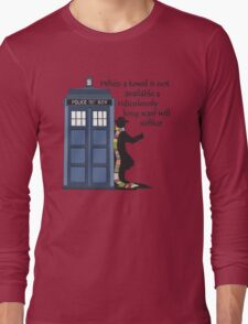 Hitch-hiking Doctor Long Sleeve T-Shirt