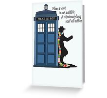 Hitch-hiking Doctor Greeting Card