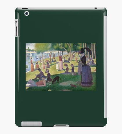 Mobile Seurat iPad Case/Skin