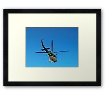 Flying The Coop Framed Print