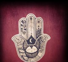 Black aztec Sticker
