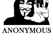 Anonymous Anon In Hoodie by kwg2200