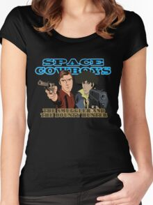 Space Cowboys Spike & Mal Women's Fitted Scoop T-Shirt