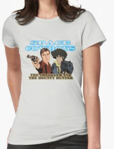 Space Cowboys Spike & Mal Womens Fitted T-Shirt