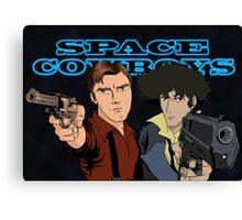 Space Cowboys Spike & Mal Canvas Print