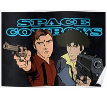 Space Cowboys Spike & Mal Poster