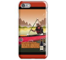 Phone case: Canoeing with Trappist Beers iPhone Case/Skin