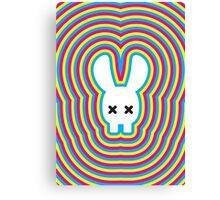 Rabbit Skull White Version Canvas Print