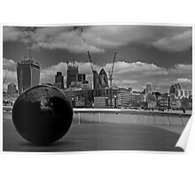 London Skyline from City Hall Poster