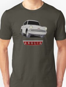Ford Anglia - Semi Transparent With Badge T-Shirt