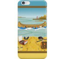 Phone case: Canoeing to Moonrise Kingdom iPhone Case/Skin