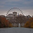 View from St James Park, London by JMChown