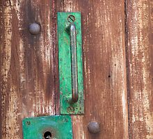 Handle and Keyhole by Charlotte Lake