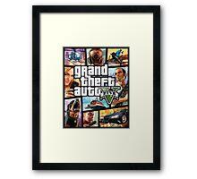 Grand Theft Auto Framed Print
