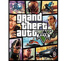 Grand Theft Auto Photographic Print