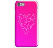 Geometric Heart iPhone Case/Skin