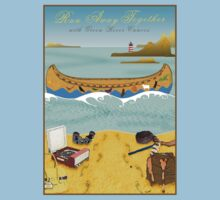 Tee: Canoe to Moonrise Kingdom by Steven House