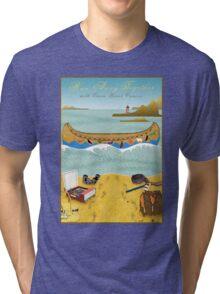 Tee: Canoe to Moonrise Kingdom Tri-blend T-Shirt
