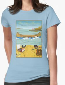 Tee: Canoe to Moonrise Kingdom Womens Fitted T-Shirt