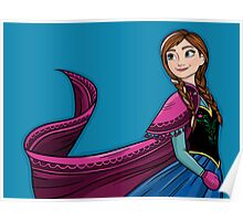 Princess Anna of Arendelle Poster
