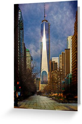 One World Trade Center by Chris Lord