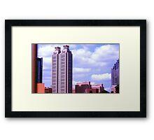 Atlanta Skyscraper Framed Print