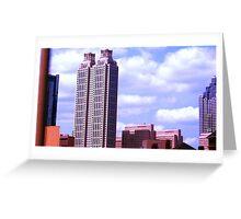 Atlanta Skyscraper Greeting Card