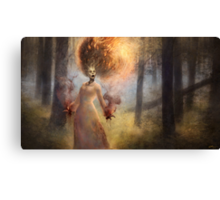 The Meadow Witch Canvas Print