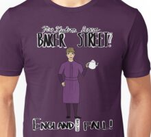 Mrs. Hudson (Dark Colors)  Unisex T-Shirt