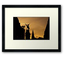 To Rule The Skies Once More Framed Print