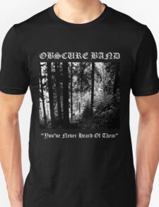 Obscure Band T-Shirt