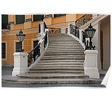 Palatial Staircase Poster