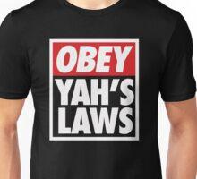Obey Yah's Laws BLK Unisex T-Shirt