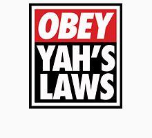 OBEY YAHS LAWS WHT SHIRT Unisex T-Shirt