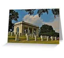 they fought for us, now we cry for them II Greeting Card