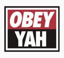 OBEY YAH WHT SHIRT by NatanYah Ysrayl