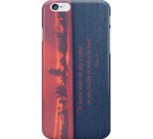 Glory iPhone Case/Skin