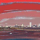 Milwaukee Skyline Painted by Timothy  Ruf
