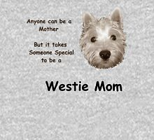 Westie Mom Womens Fitted T-Shirt