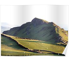 Chrome Hill from High Edge Poster
