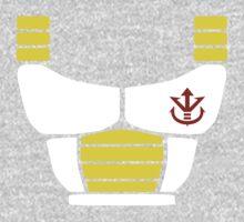 Minimalist Saiyan armor Kids Tee