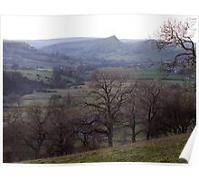 Chrome Hill from Crowdecote Bank Poster