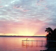 Lake Winnebago Sunrise by Timothy  Ruf