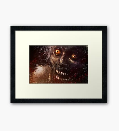 Brains! Framed Print