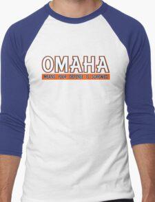 "VICTRS ""OMAHA"" Men's Baseball ¾ T-Shirt"